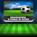 Что такое «коэффициент» в ставках на футбол