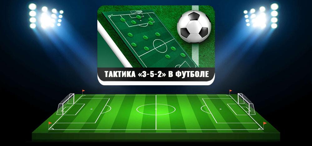 Наглядные примеры тактики футбола «3-5-2»