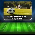 Какие схемы тактики 8 на 8 наиболее популярны в футболе