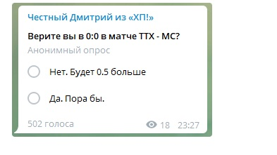 "Накрутка голосов ""ХП!"""