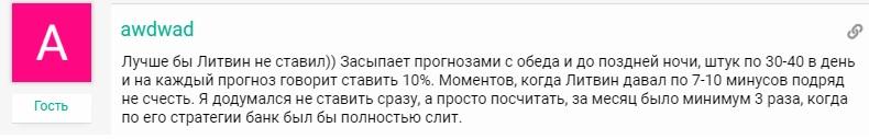 Литвин Ставит отзывы
