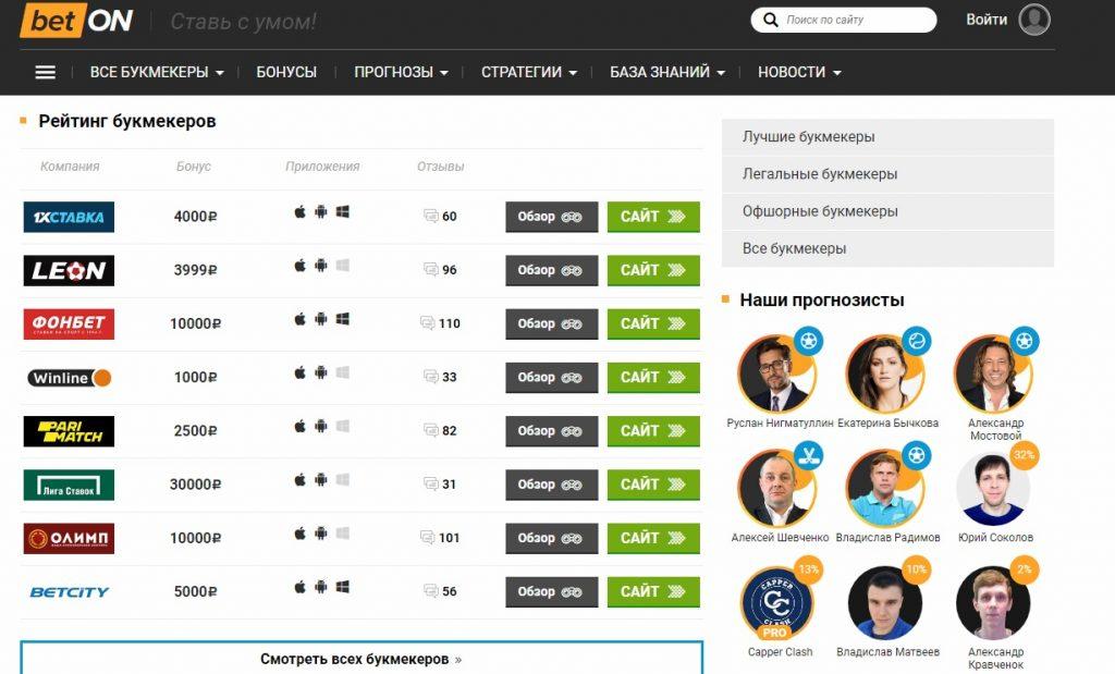 Внешний вид сайта betonmobile.ru