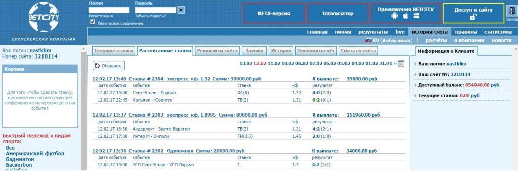Статистика прогнозов prognoz-garant.ru