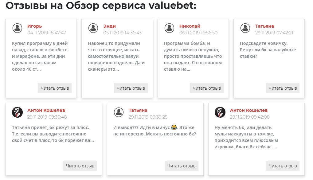 Value-Bet.ru отзывы