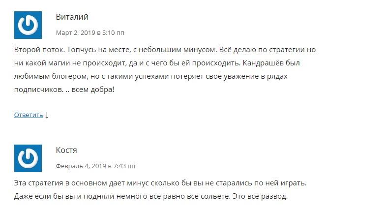 KondrashovInvest отзывы