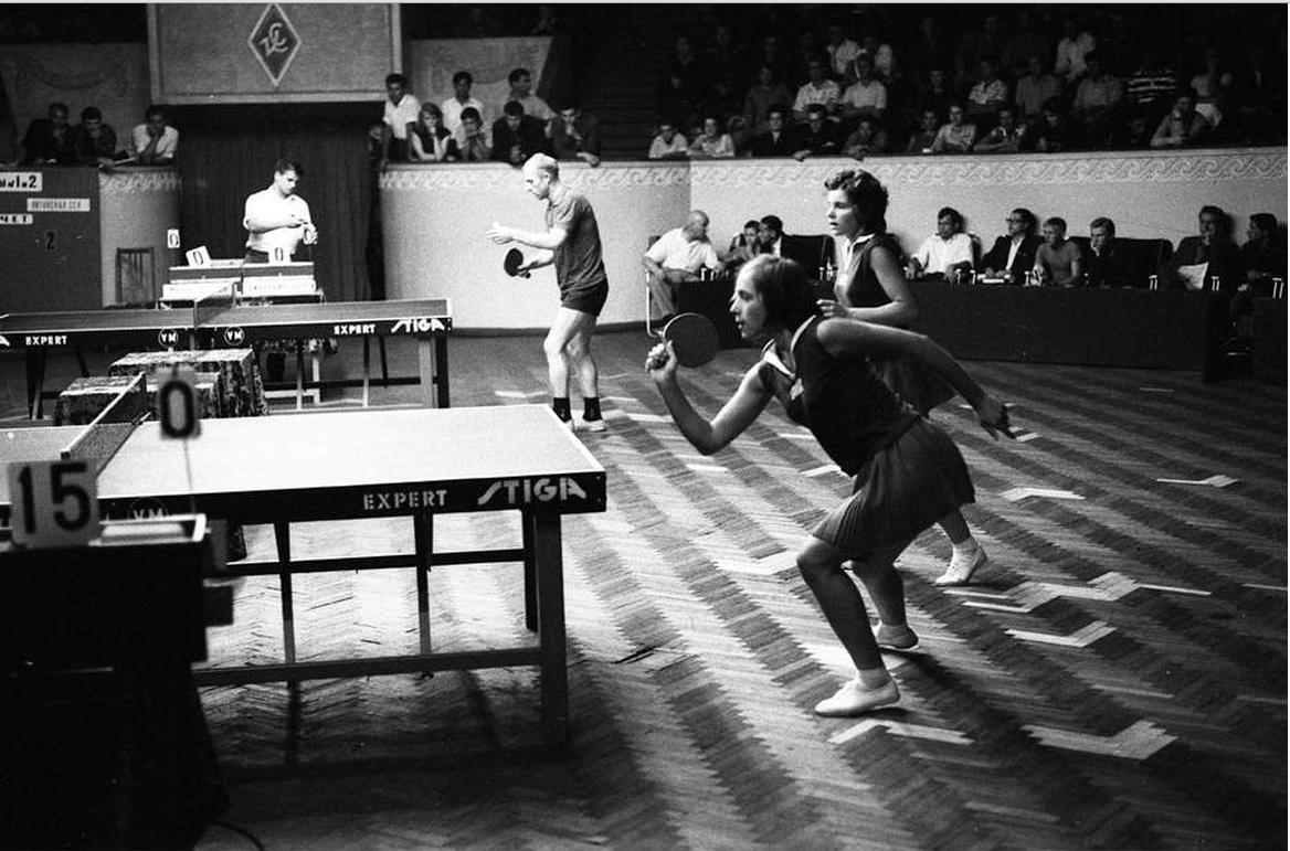 История развития настольного тенниса в СССР