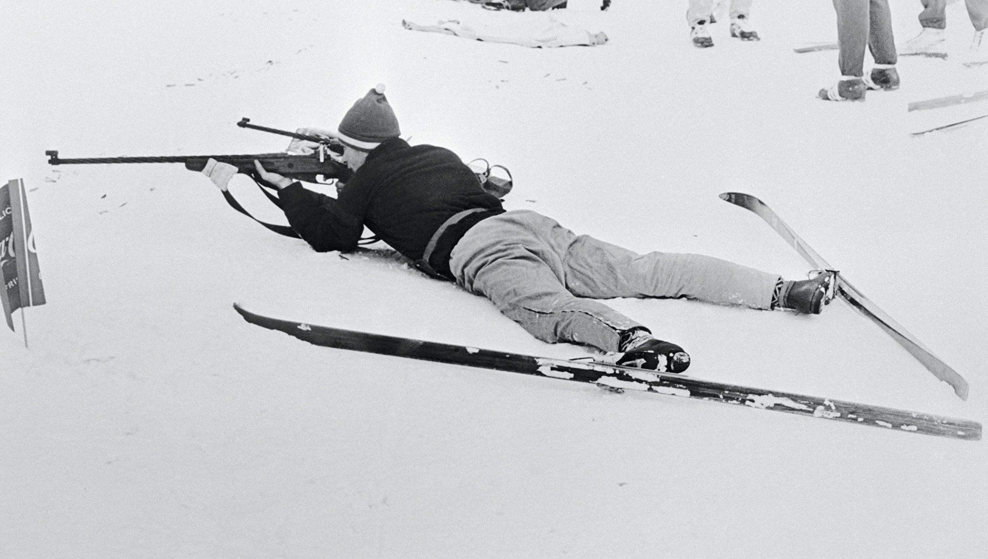 Первый чемпионат по биатлону в рамках Олимпийских игр 1960 года