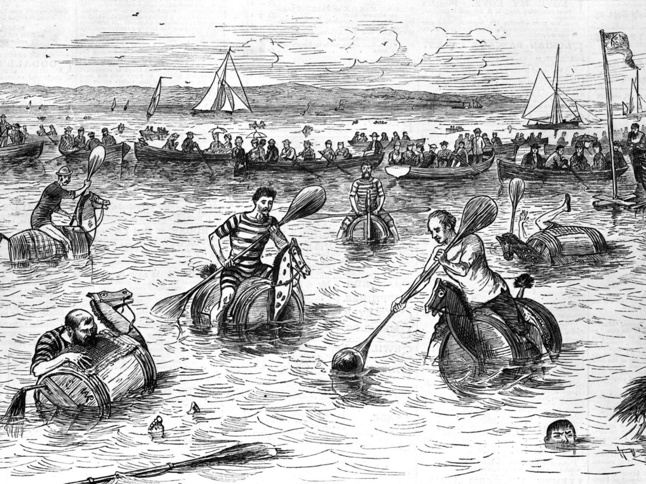 История возникновения и развития водного поло