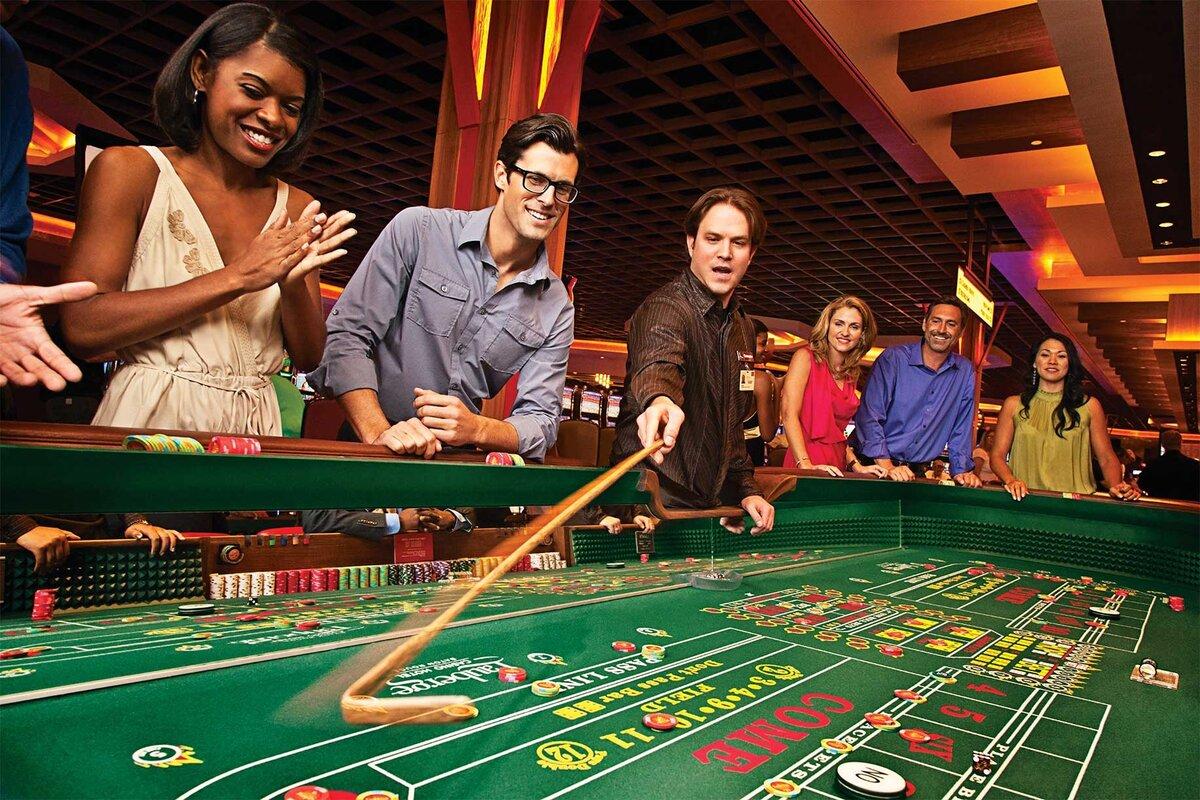 В казино по-крупному выигрывают единицы