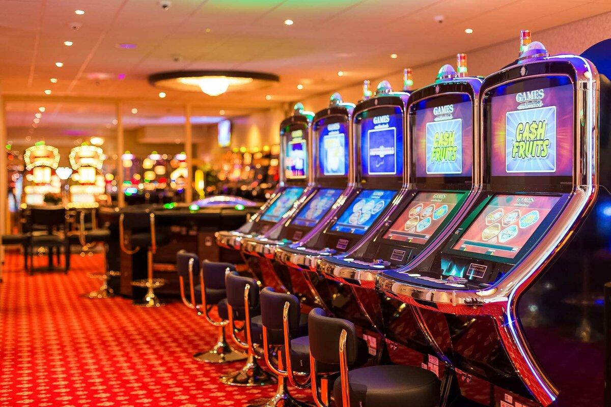 Автоматы возвращают в качестве выигрыша процент от всех поставленных денег