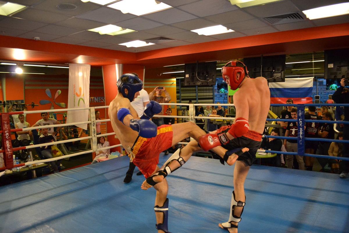 В современном тайском боксе одержать победу можно по очкам