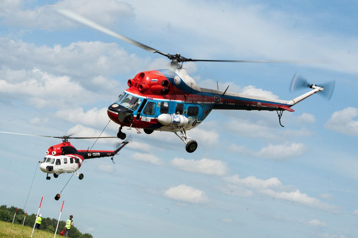 Спортивные вертолёты России