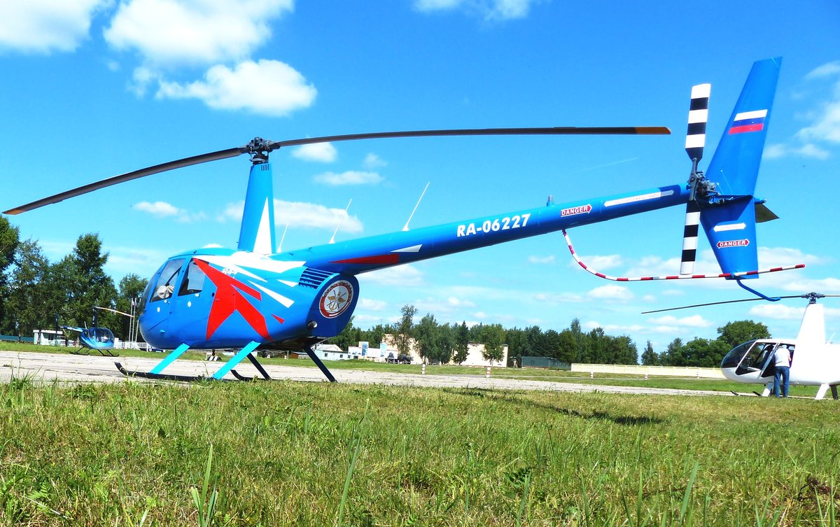Вертолеты ДОСААФ