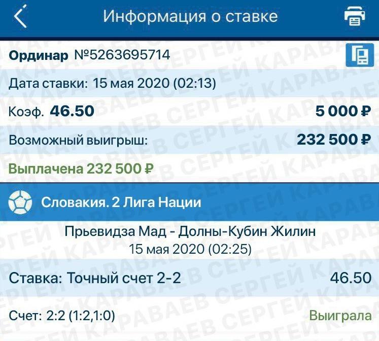 Скриншот с демо-счета