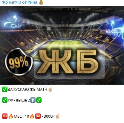 Стоимость прогноза 3000 рублей