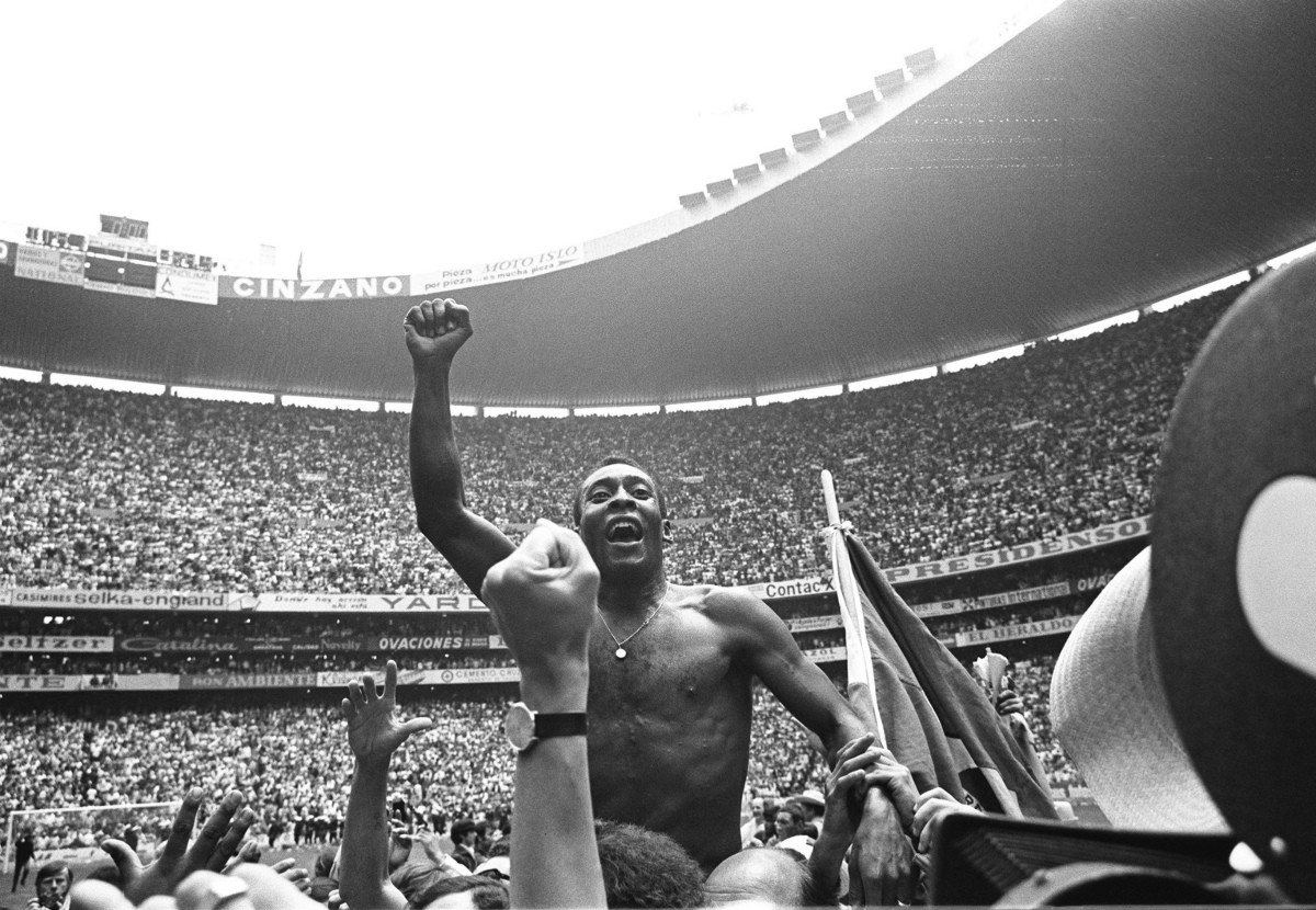 Чемпионате мира-1970 Пеле