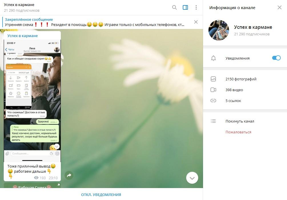 На большинстве скриншотов присутствует фото QIWI-кошелька