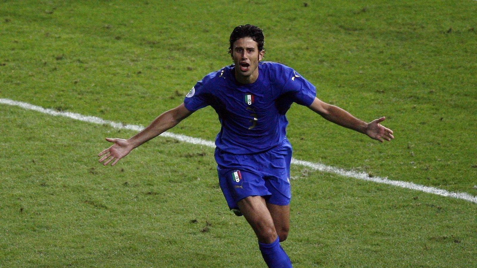 Вратарь сборной Италии Фабио Гроссо