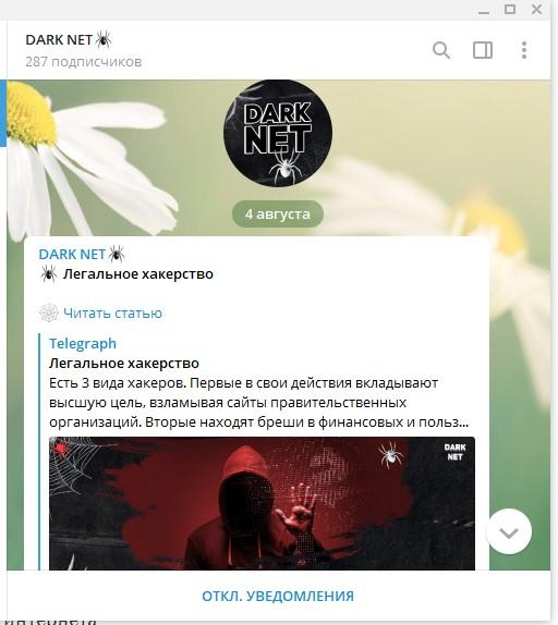 «Темная сторона интернета»