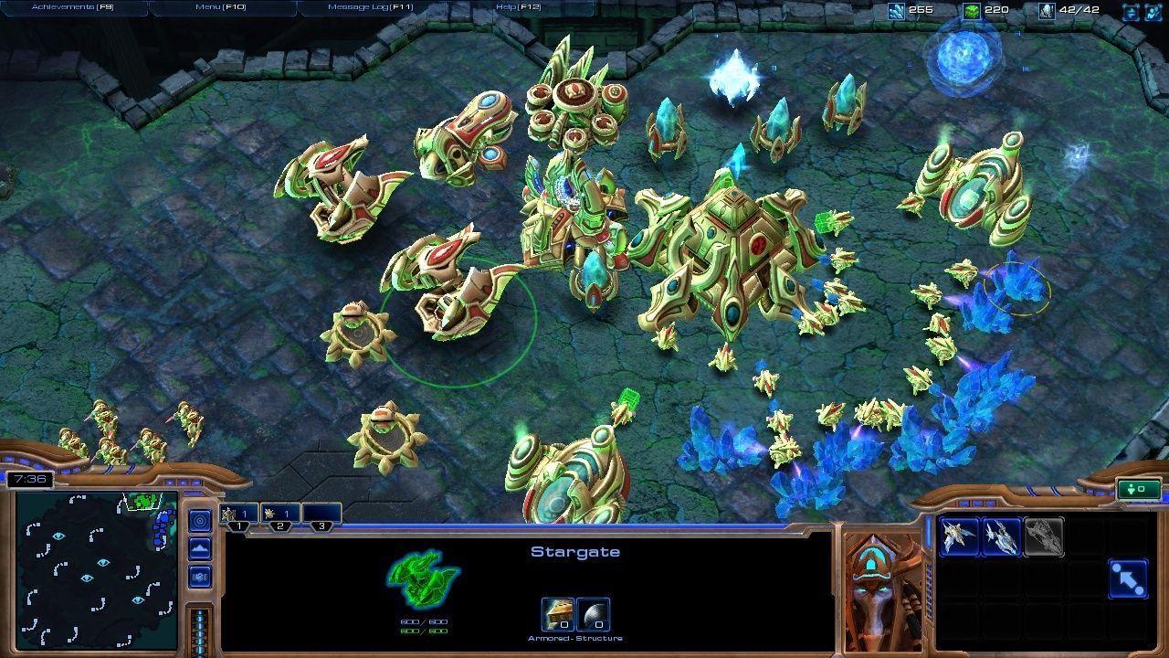 База игры Starcraft