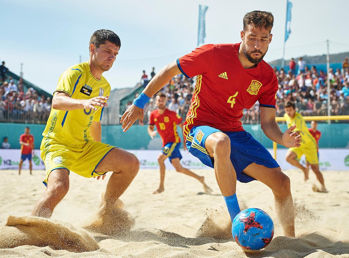 Овретайм в пляжном футболе длится 3 минуты