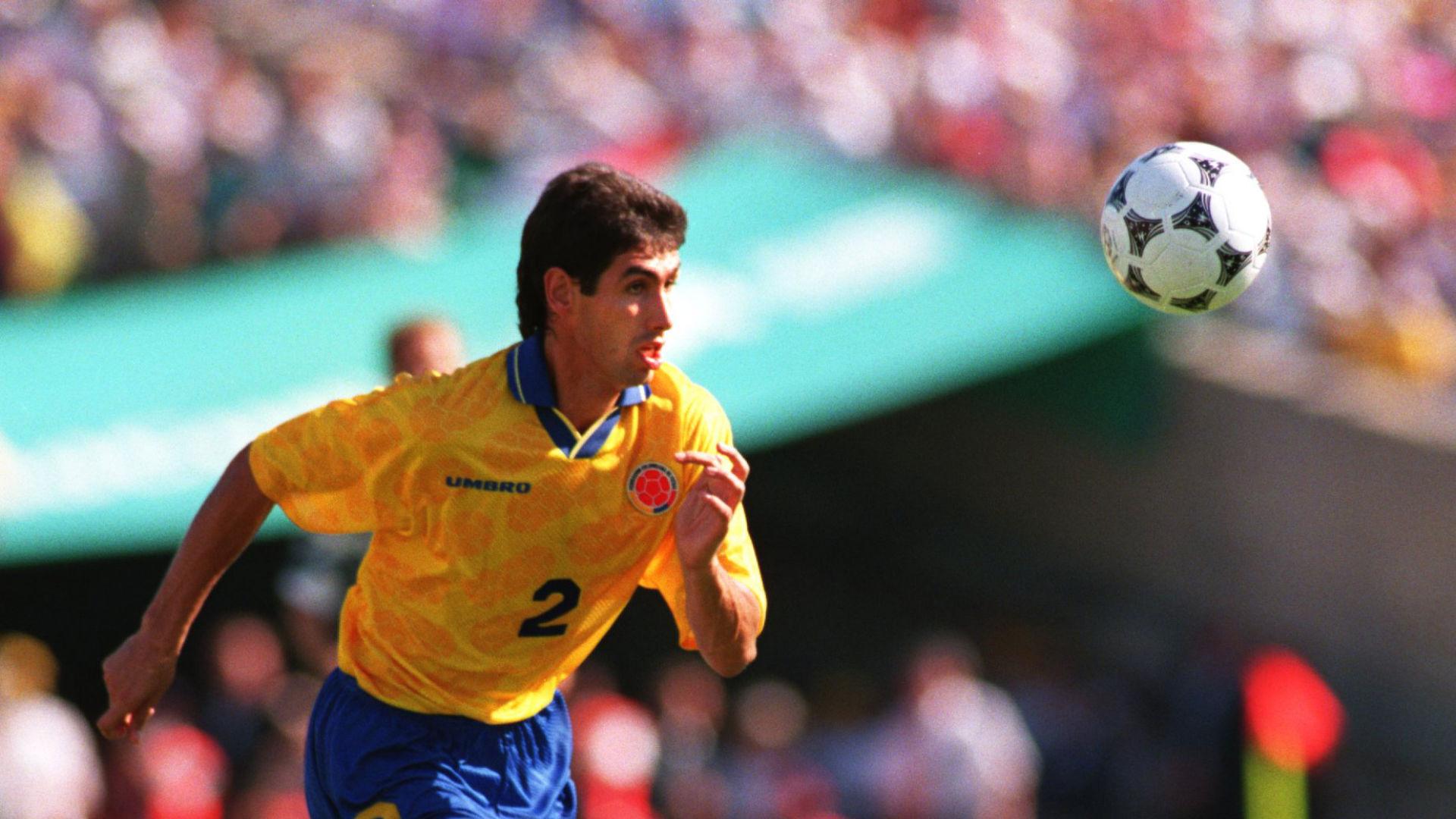 Андрес Эскобар, защитник сборной Колумбии