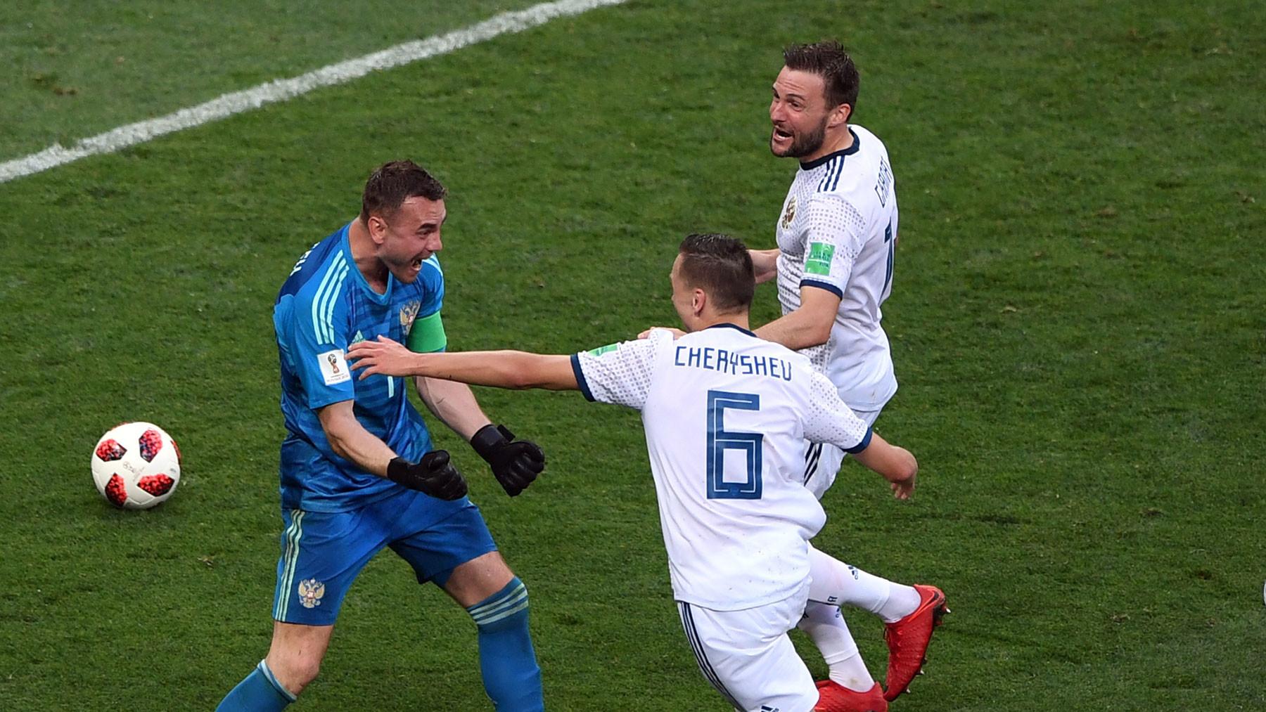 Матч Испания-Россия на чемпионате мира 2018 года