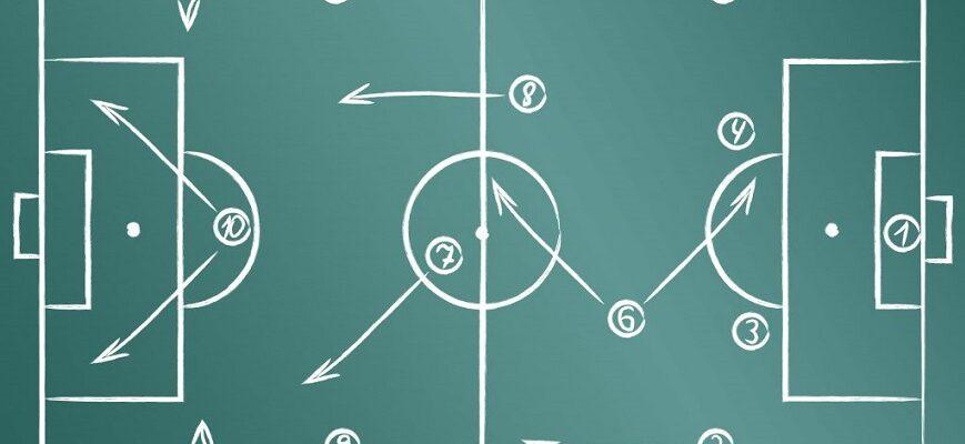 Схемы тактики футбола 8 на 8