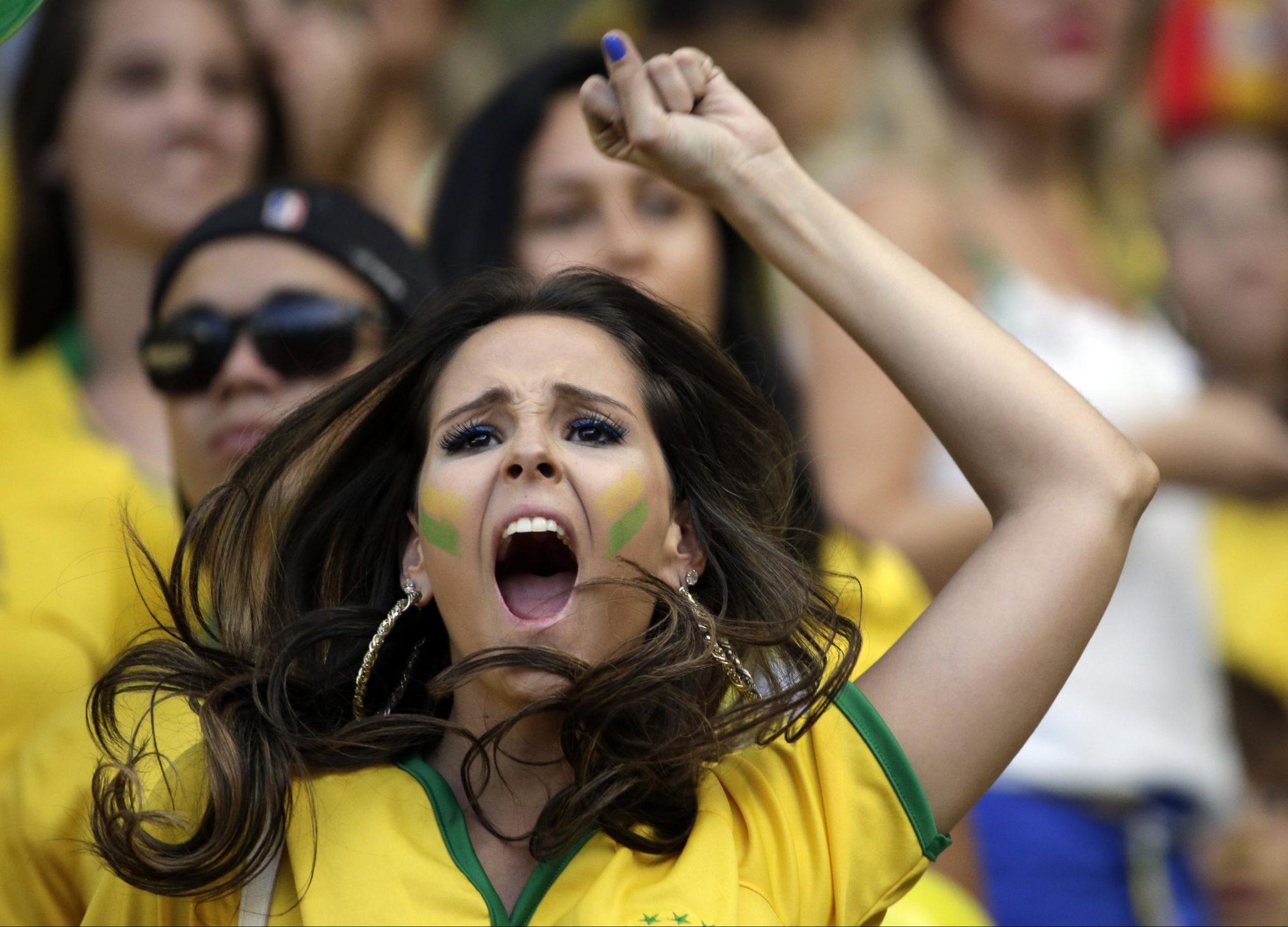 Страсть к футболу в Бразилии