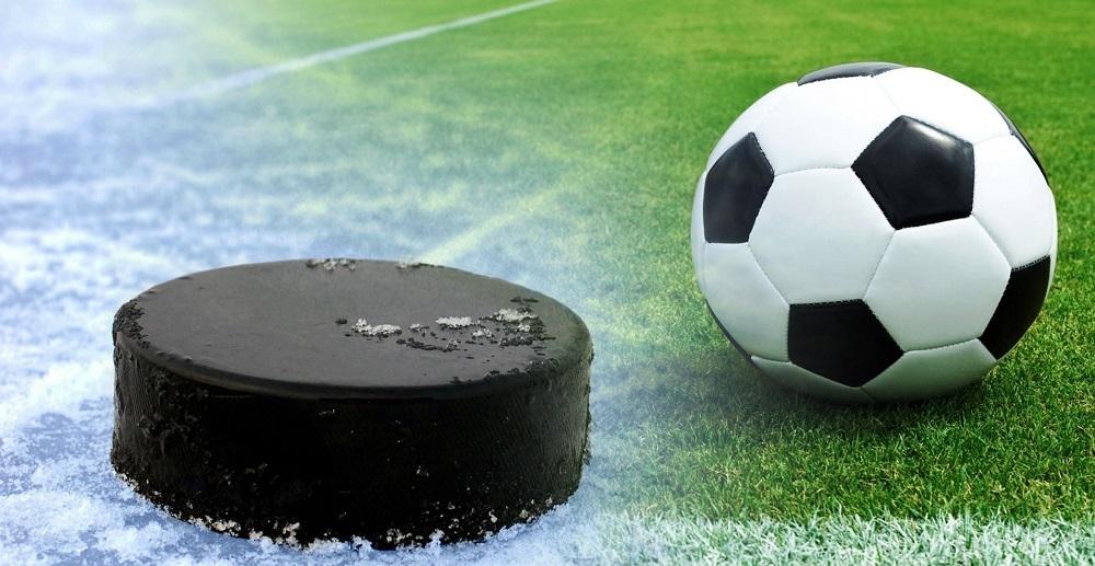 Какие виды ставок предлагают букмекеры на хоккей и футбол