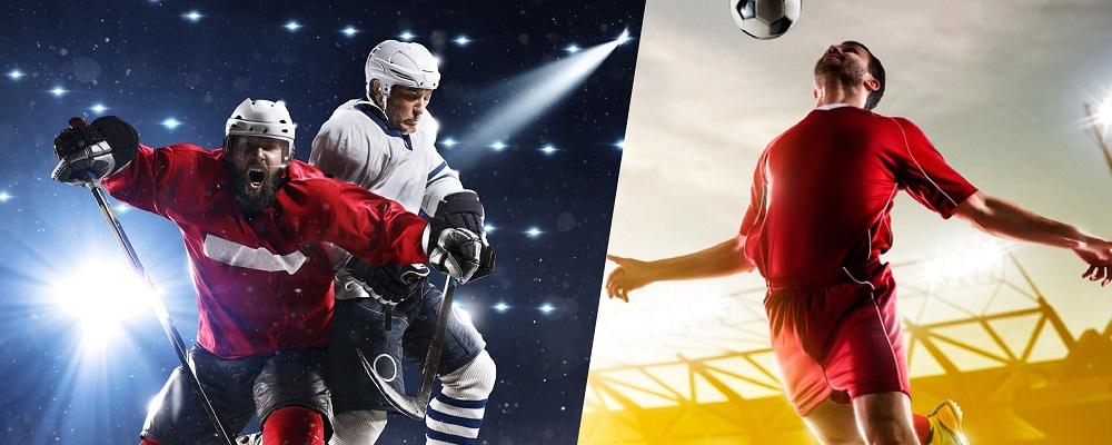 Каковы основные отличия в ставках на хоккей и футбол