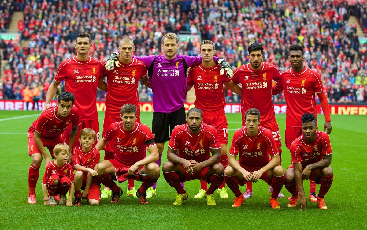 Команда «Ливерпуля»