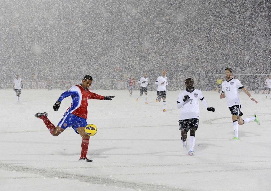 Важны погодные условия на футбольном поле