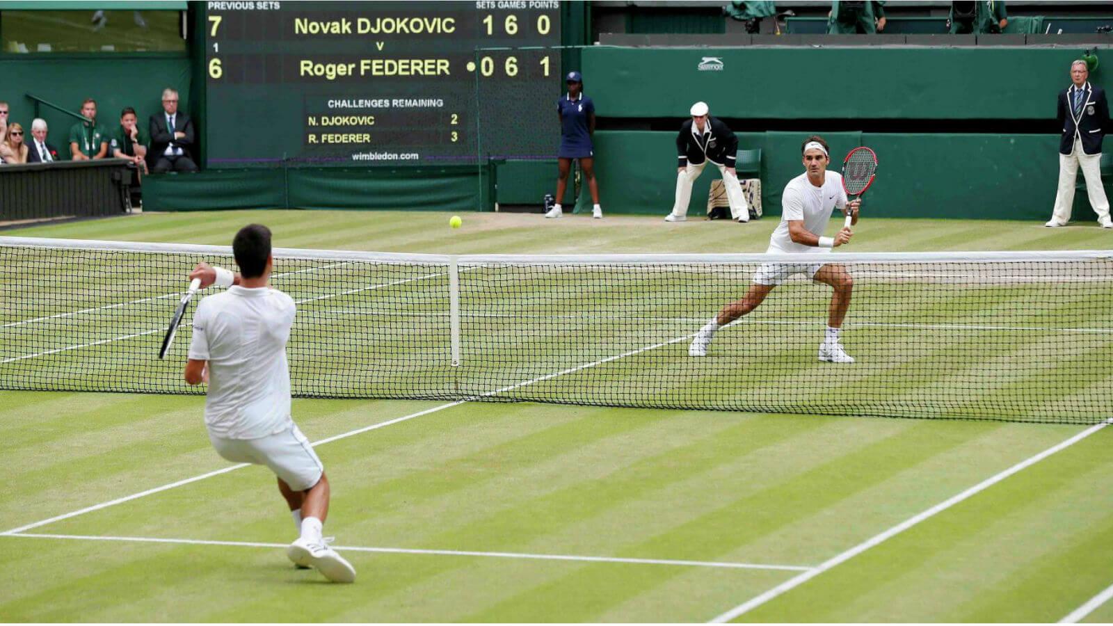 Горизонтальный экспресс в теннисе
