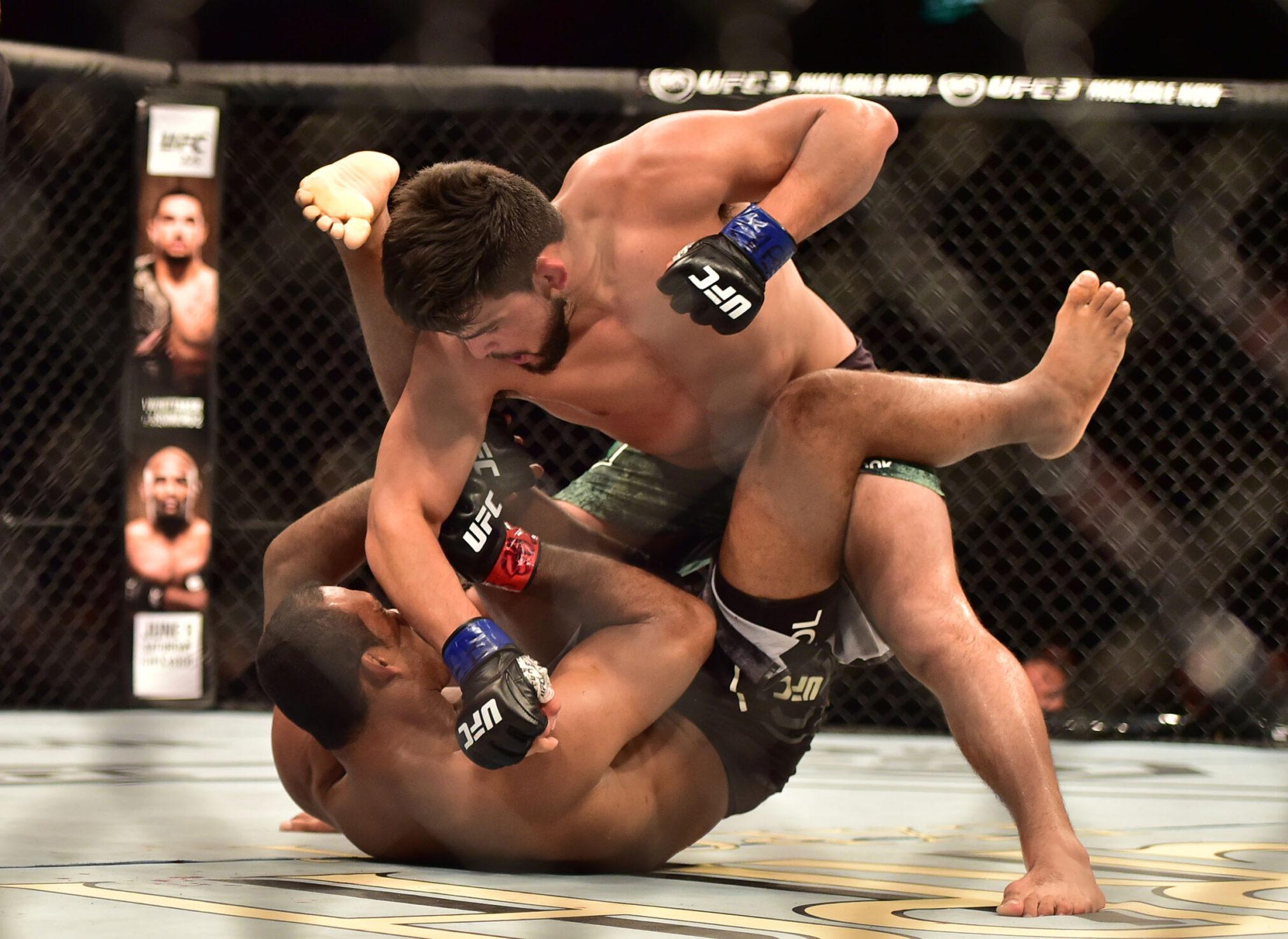 Ставки на кибер-единоборства UFC