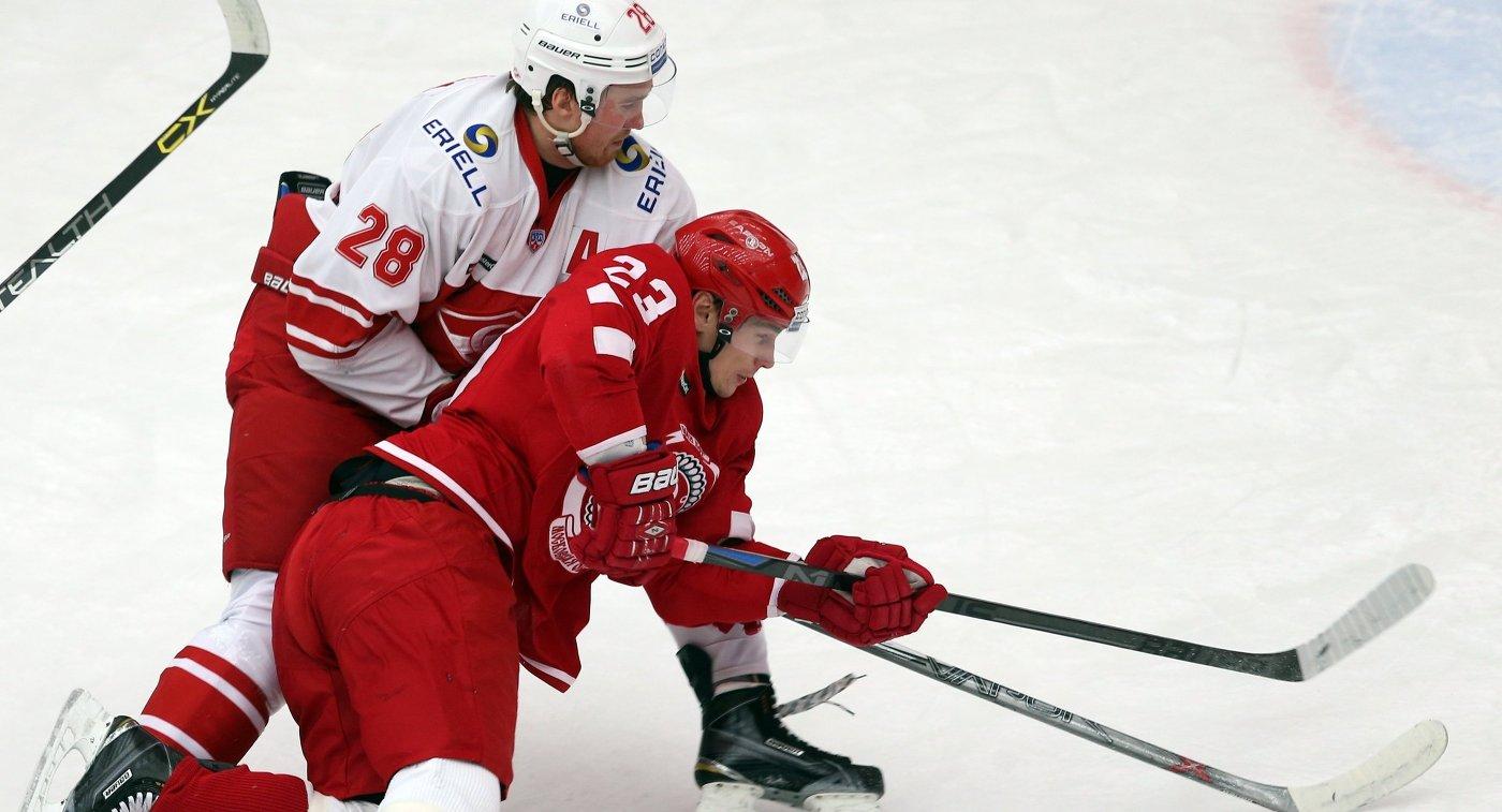 Матч между П1 «Витязь» — П2 «Спартак»