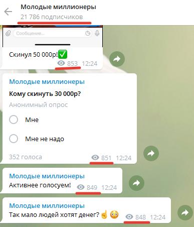 Проект представлен только в «Телеграме»