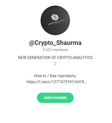 Главная страница телеграм-канала