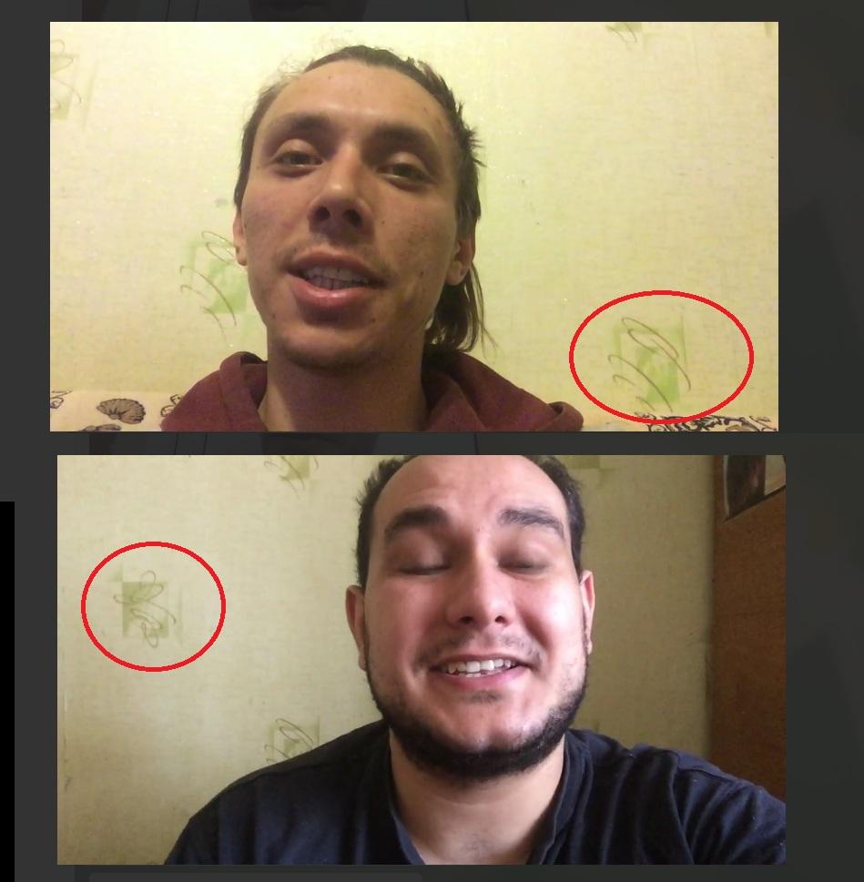 Часть роликов записана в одной и той же комнате