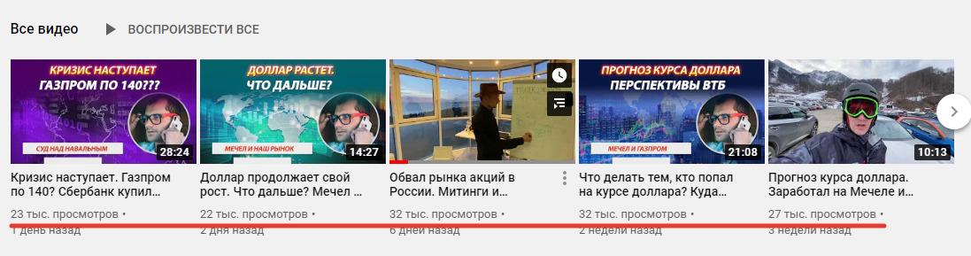 Деятельность каппера на YouTube