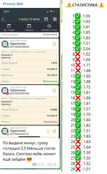 Отчеты предоставляются в виде скриншотов