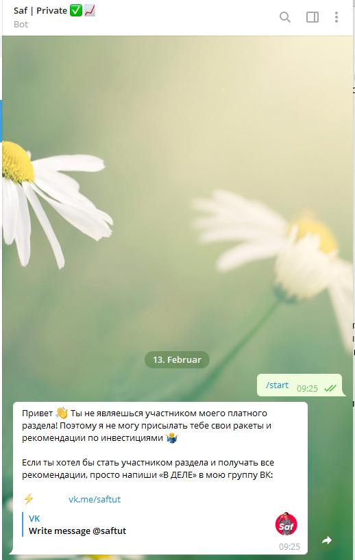 Telegram – @saftut