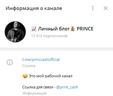 Личный блог PRINCE