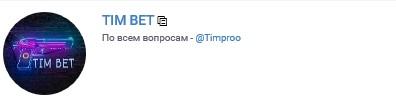 Телеграм-канал Tim Bet