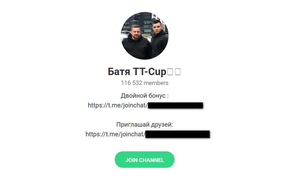 Описание проекта «Батя TT-Cup»