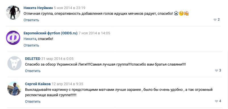 Отзывы об Odds ru