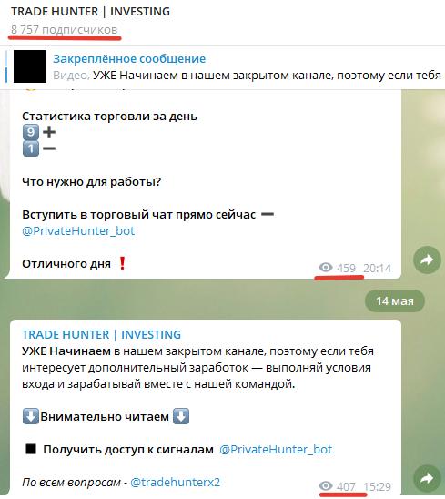 Анализ канала в «Телеграме»
