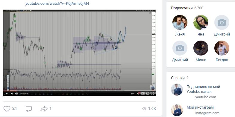 Главной площадкой Сергея стала социальная сеть ВК