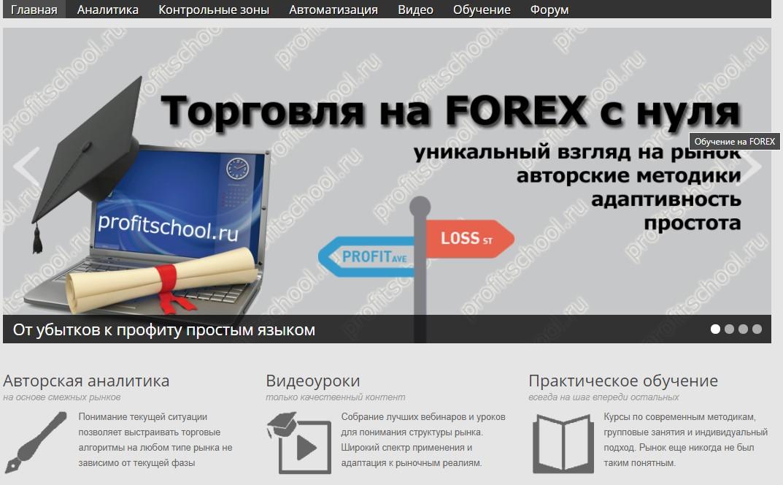 Трейдерская школа MyProfitSchool