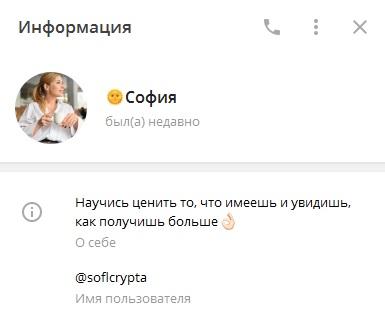 софия профиль